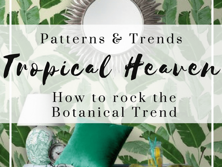 How to Rock the Botanical Trend at Home