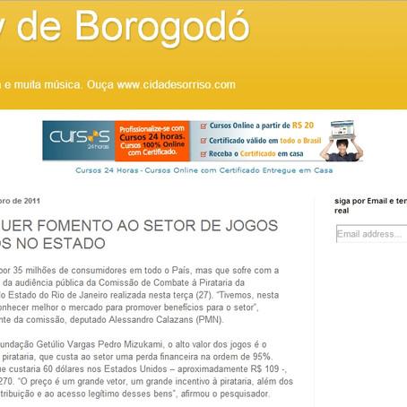 Show de Borogodó enfoca combate a pirataria