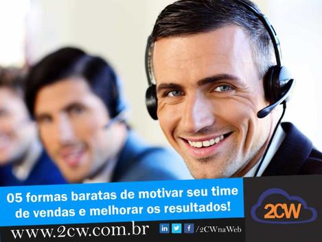 05 formas baratas de motivar seu time de vendas e aumentar seu resultado!