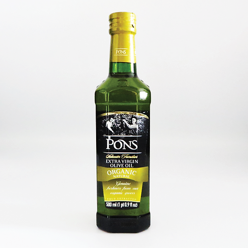 Pon's - Organic Extra Virgin Olive Oil 500ml