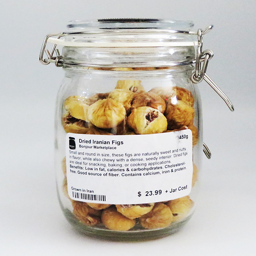 Bonjour Marketplace - Dried Figs 450g
