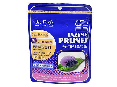 JLJ Foods Enzyme Prunes 140g x16 /case