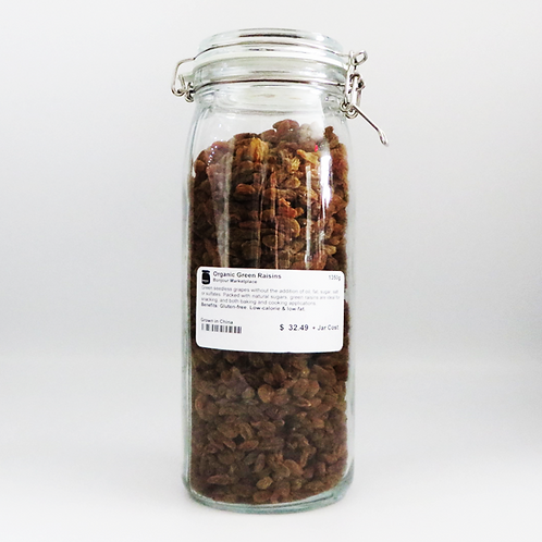 Bonjour Marketplace - Organic Green Raisin 1350g