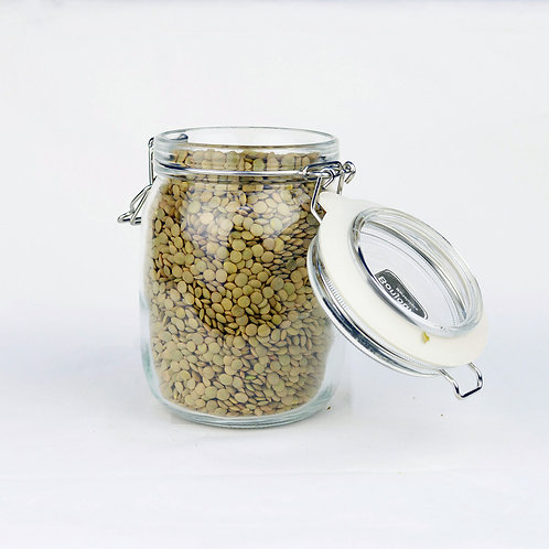 Bonjour Marketplace - Organic Green Lentils 800g
