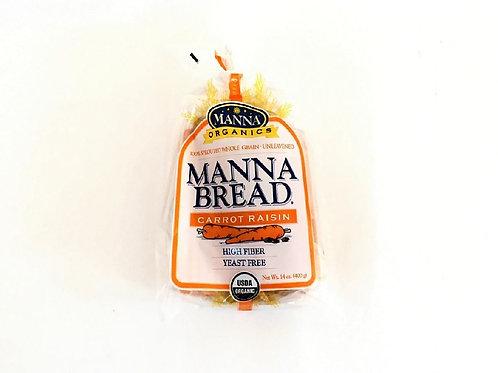 Manna Organics - Organic Carrot Raisin Frozen Bread 400g
