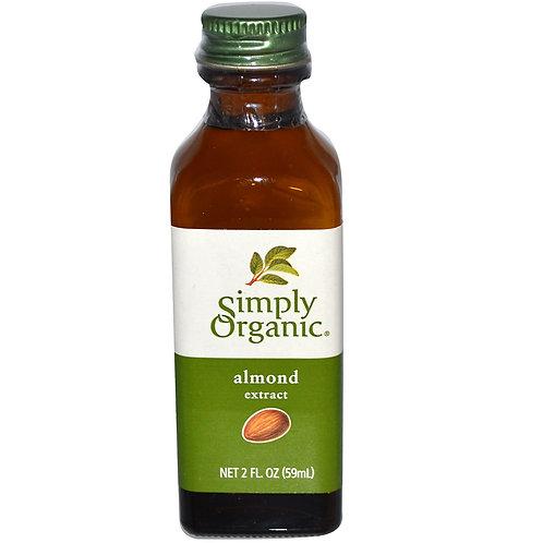 Simply Organic - Organic Almond Extract 59g
