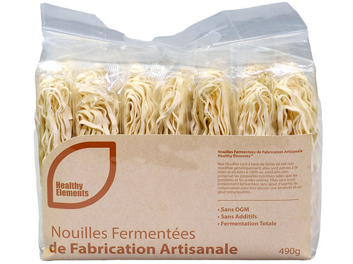 Healthy Elements Hand Made / Fermented Noodle 490mg x12 /case