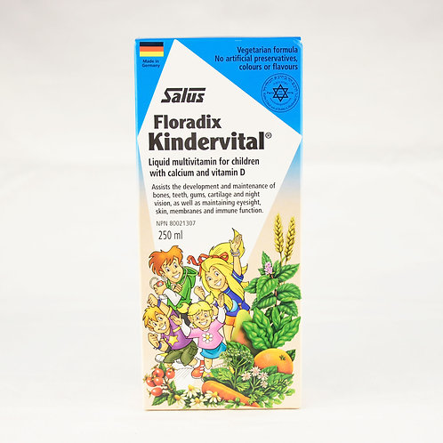 Flora - Kindervital Multivitamin for Children 250mL