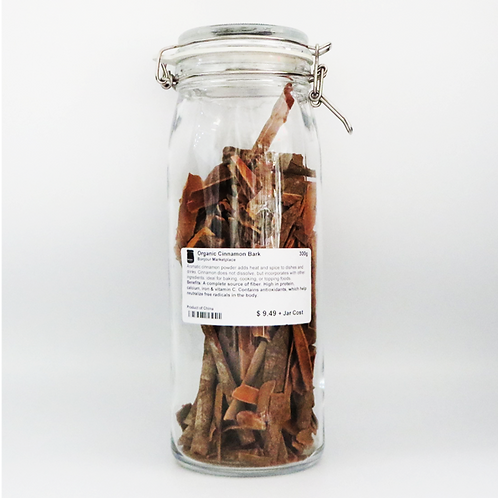Bonjour Marketplace - Organic Cinnamon Bark 300g