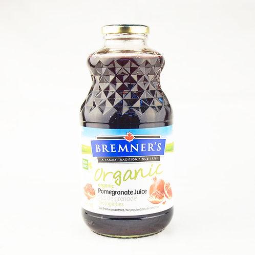 Bremner's Juice - Organic Pomegranate Juice 946ml