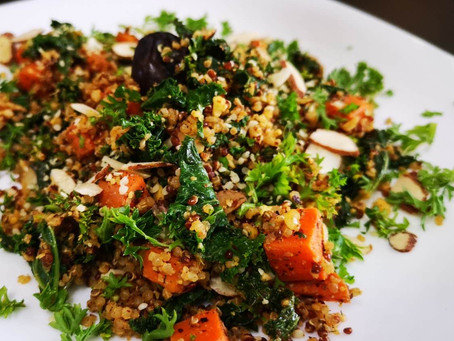 Zesty Quinoa with Kale