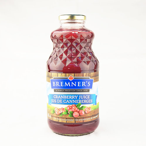Bremner's Juice - Cranberry Juice 946ml