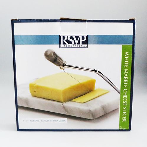 RSVP - White Marble Cheese Slicer