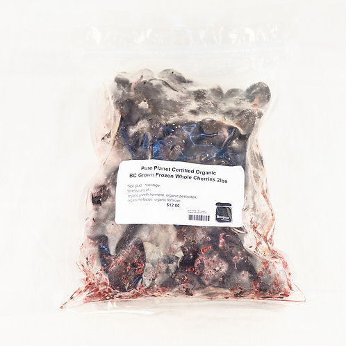 Pure Planet - Organic Frozen BC Whole Cherries 2lbs