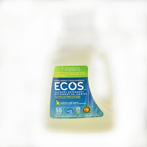 Earth Friendly Products - Ecos - Lemongrass Laundry Detergent 1.47L
