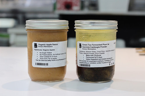 Bonjour Marketplace - Organic Apple Sauce 500ml