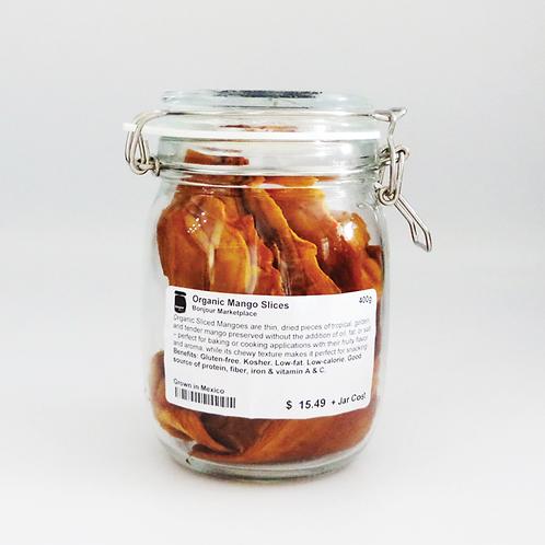 Bonjour Marketplace - Organic Dried Mango Slices 400g
