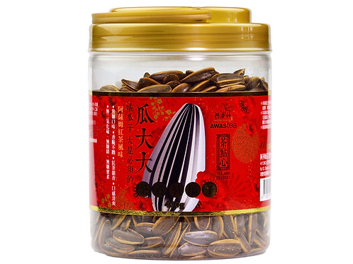 Awastea Sunflower Seeds (Black Tea Flavor) 400g x12 /case