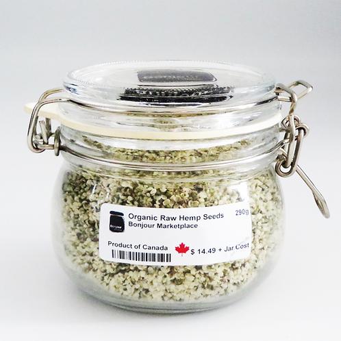 Bonjour Marketplace - Organic Raw Hemp Seeds 290g