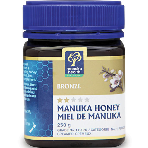 Manuka Health - Organic Manuka Honey Bronze 250g