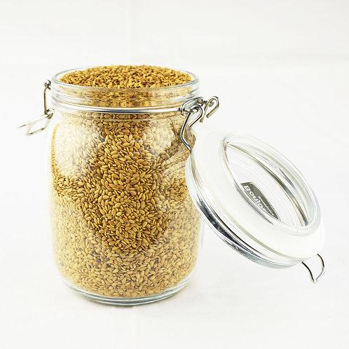 Bonjour Marketplace - Organic Golden Flaxseeds 650g