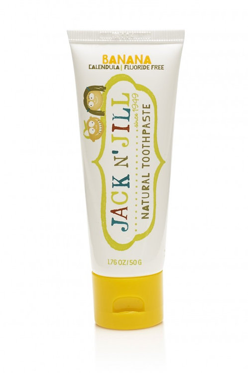 Jack n Jill - Natural Toothpaste Banana Flavour 50g