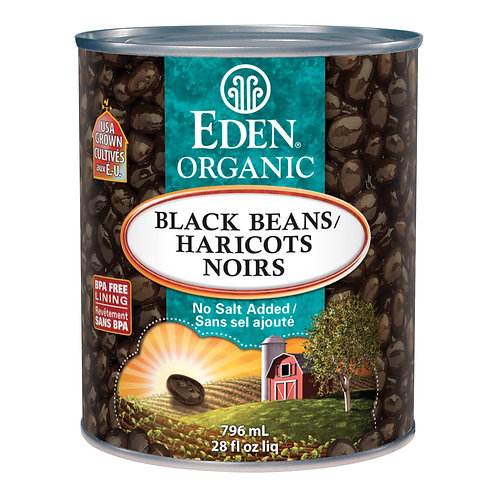 Eden Organic - Organic Black Beans No Salt 796mL