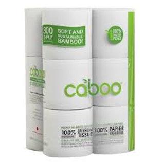 Caboo - Bamboo & Sugarcane Bathroom Tissue 12 rolls