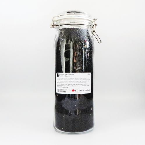 Bonjour Marketplace - Organic Lentils - Black 1900g