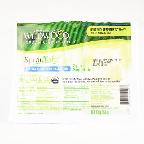Wildwood - SprouTofu Extra Firm 2 pack 439g