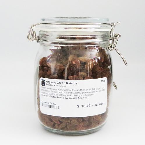Bonjour Marketplace - Organic Green Raisins 600g