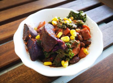 African Veggie & Bean Stew