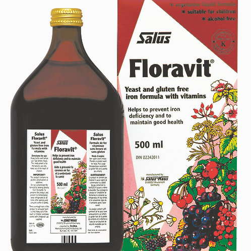 Flora - Floravit Yeast/Gluten Free 500mL