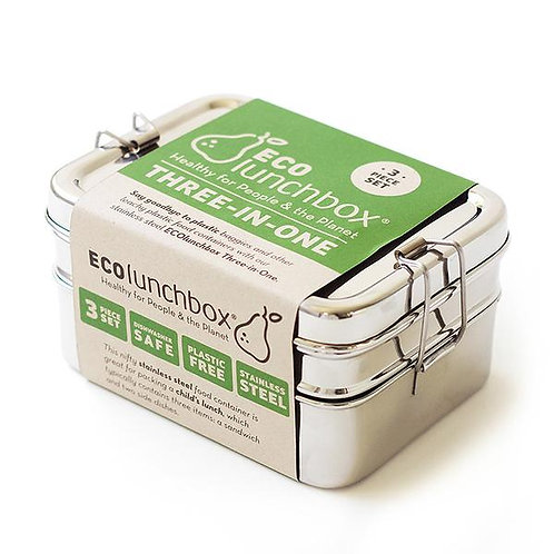Eco Lunch - 3 in 1 Rectangular Set
