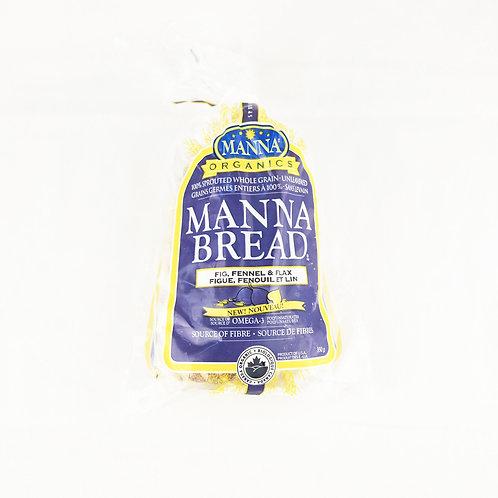 Manna Organics - Organic Fig, Fennel & Flax Frozen Bread 350g