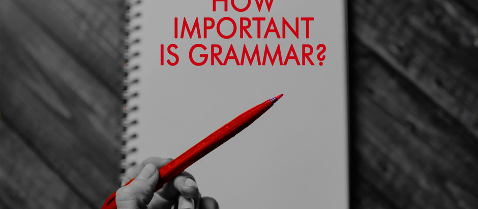 Are the Rules of Written English Really That Important?