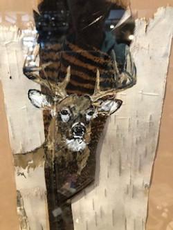 Artwork on Birch