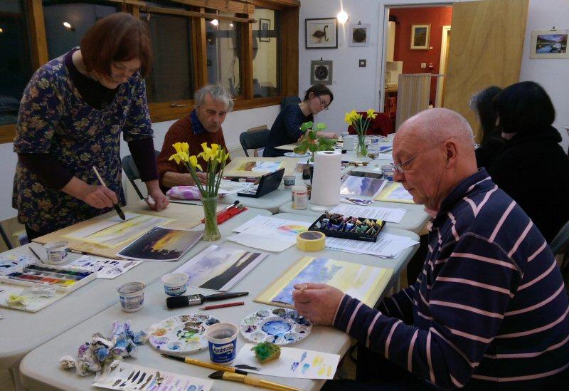 Watercolour Workshop 2 Feb 2016