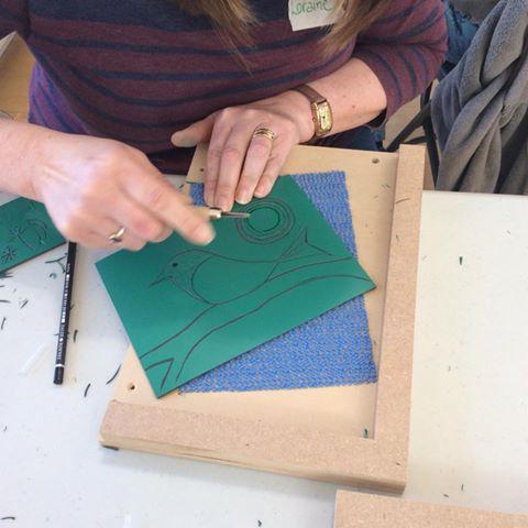 Lino Cut Workshop results 3