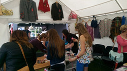 Our shop in a tent 3