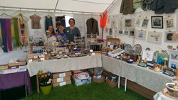 Our shop in a tent 4