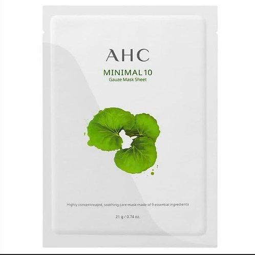 k0544 - AHC 積雪草修護親膚面膜 (1盒4片)