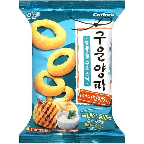 k0551 - 韓國HAITAI田園沙拉醬風味洋蔥圈 70g