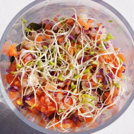 verrine salade fraicheur été traiteur mi