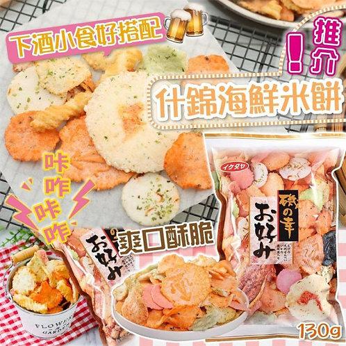 k0527 - 池田屋磯之幸什錦海鮮米餅
