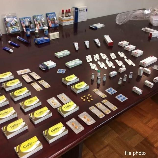 counterfeit prescription drugs - file photo
