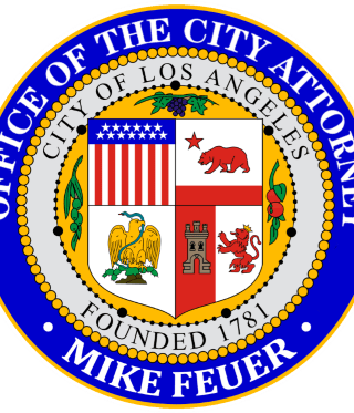Los Angeles City Attorney Official Seal.