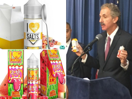 CITY ATTORNEY FEUER SEEKING INJUNCTIONS AGAINST VAPE COMPANIES FOR ALLEGEDLY TARGETED CHILDREN