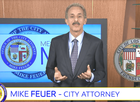 CITY ATTORNEY MIKE FEUER ADDRESSES PRIVACY IN THE DIGITAL AGE IN HIS WEEKLY MESSAGE