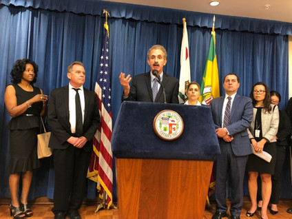 CITY ATTORNEY MIKE FEUER SECURES $450,000 SETTLEMENT OVER ALLEGATIONS OF HOMELESS PATIENT DUMPING